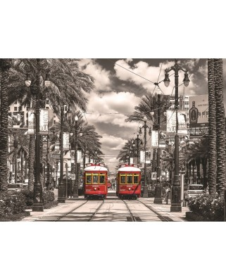 Puzzle Eurographics - New Orleans Streetcars, 1.000 piese (53305)