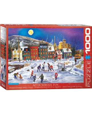 Puzzle Eurographics - Patricia Bourque: After School, 1.000 piese (62288)