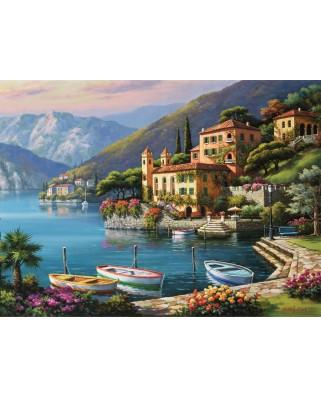 Puzzle Ravensburger - Coasta Italiei, 500 piese (14797)