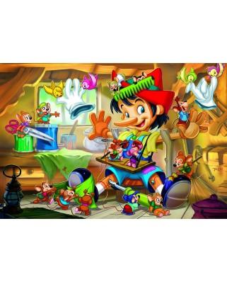 Puzzle Eurographics - Pinocchio, 35 piese (6035-0421)