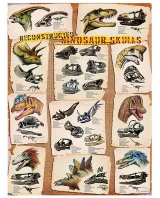 Puzzle Eurographics - Reconstructed Dinosaur Skulls, 1.000 piese (4565)