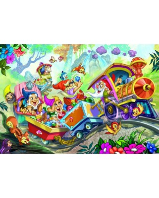 Puzzle Eurographics - Snow White and the Seven Dwarfs, 35 piese (6035-0422)