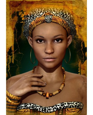 Puzzle Grafika - African Woman, 1.000 piese (53700)