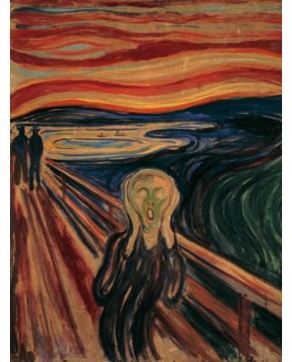 Puzzle Ravensburger - Edvard Munch, The Scream, 1.000 piese (15758)