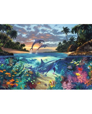 Puzzle Ravensburger - Golful Coralilor, 1.000 piese (19145)