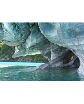 Puzzle Grafika - Blue Marble Cave, Chile, 1.000 piese (53515)