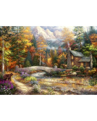 Puzzle Grafika - Chuck Pinson: Call of the Wild, 1.500 piese (62035)