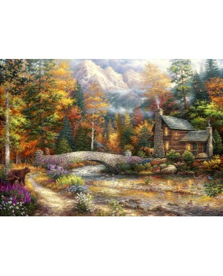Puzzle Grafika - Chuck Pinson: Call of the Wild, 2.000 piese (62034)
