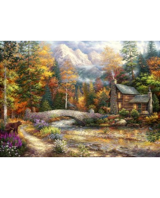 Puzzle Grafika - Chuck Pinson: Call of the Wild, 300 piese (62032)