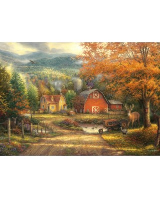 Puzzle Grafika - Chuck Pinson: Country Roads Take Me Home, 1.000 piese (63191)