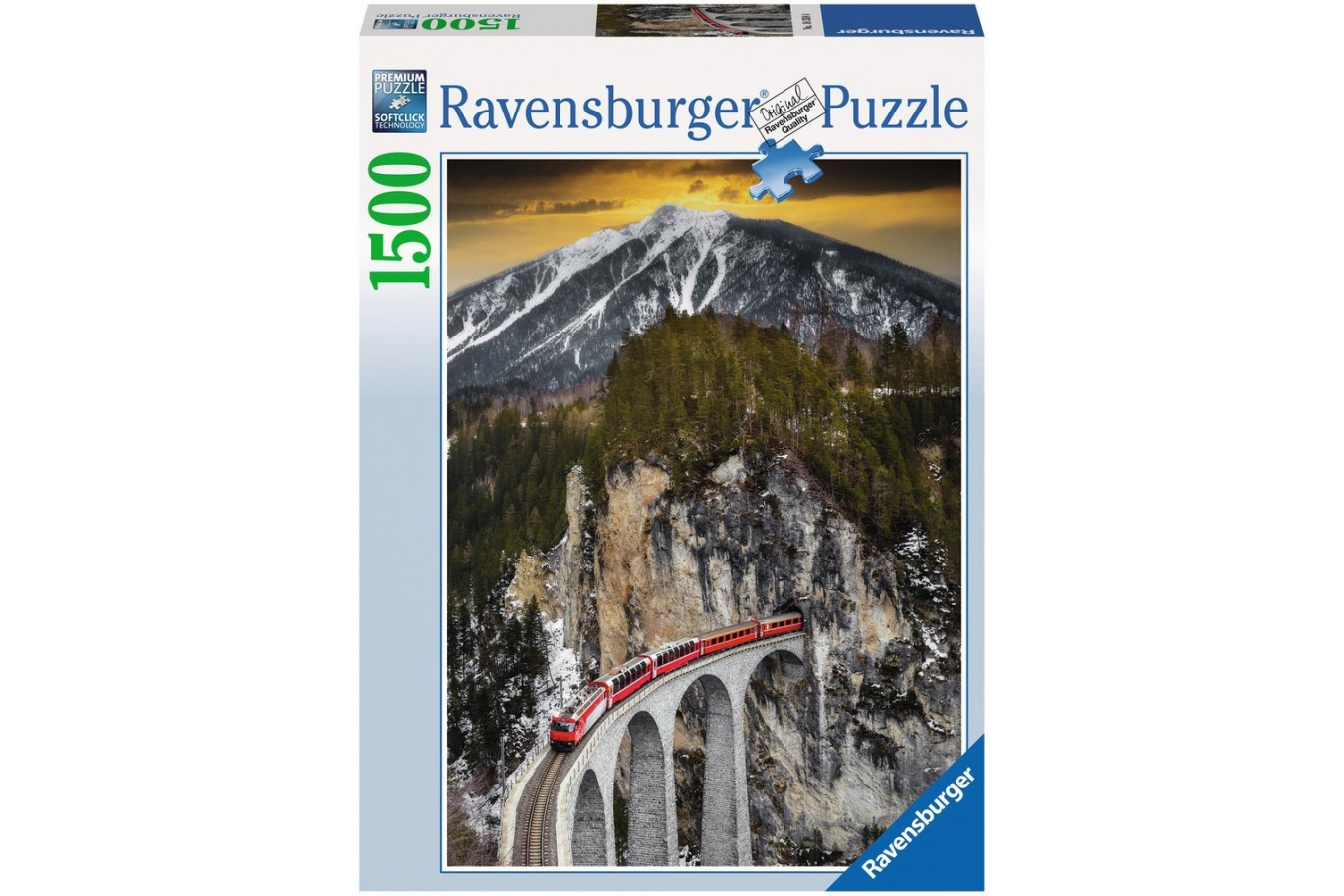 Puzzle Ravensburger - Canion Iarna, 1.500 piese (16358)