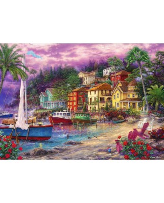 Puzzle Grafika - Chuck Pinson: On Golden Shores, 1.000 piese (62068)