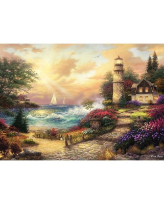 Puzzle Grafika - Chuck Pinson: Seaside Dreams, 1.000 piese (63084)