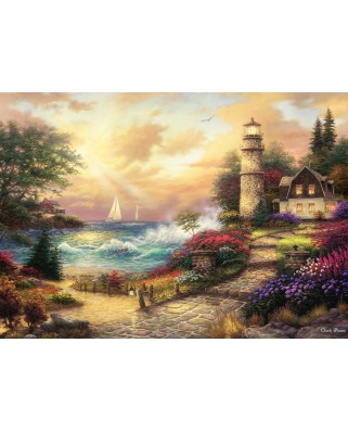 Puzzle Grafika - Chuck Pinson: Seaside Dreams, 1.500 piese (63083)