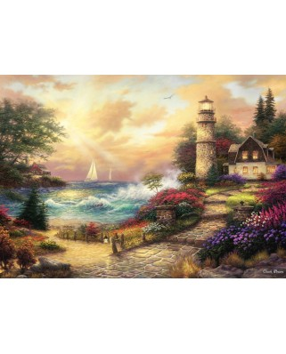 Puzzle Grafika - Chuck Pinson: Seaside Dreams, 500 piese (63085)