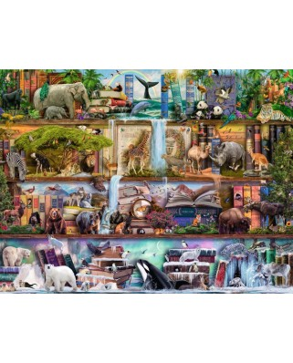 Puzzle Ravensburger - Animale, 2.000 piese (16652)