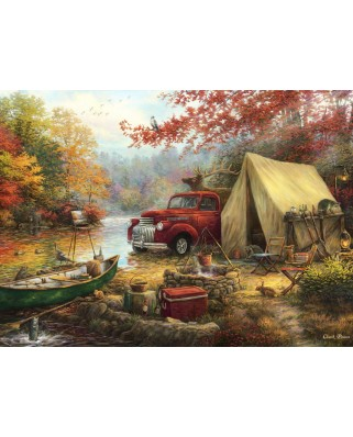 Puzzle Grafika - Chuck Pinson: Share the Outdoors, 300 piese (63104)