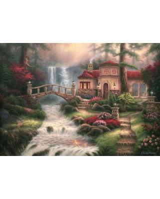 Puzzle Grafika - Chuck Pinson: Sierra River Falls, 1.500 piese (63125)