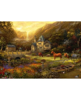 Puzzle Grafika - Chuck Pinson: The Golden Valley, 1.000 piese (63183)