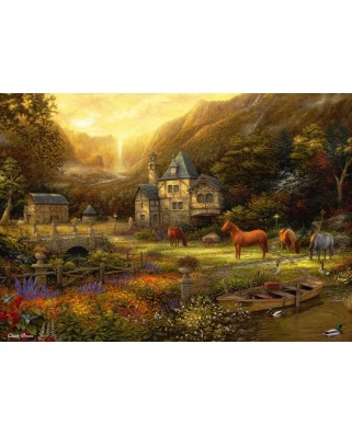 Puzzle Grafika - Chuck Pinson: The Golden Valley, 2.000 piese (63181)