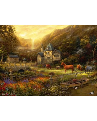 Puzzle Grafika - Chuck Pinson: The Golden Valley, 300 piese (63187)