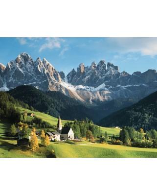 Puzzle Ravensburger - Muntii Dolomiti, 2.000 piese (16674)