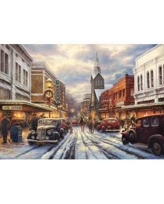 Puzzle Grafika - Chuck Pinson: The Warmth of Small Town Living, 1.000 piese (63158)
