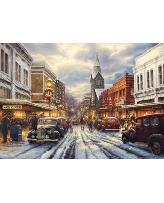 Puzzle Grafika - Chuck Pinson: The Warmth of Small Town Living, 2.000 piese (63161)