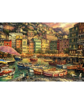 Puzzle Grafika - Chuck Pinson: Vibrance of Italy, 1.500 piese (62083)