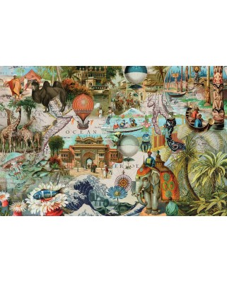Puzzle Ravensburger - Oceania, 3.000 piese (17068)