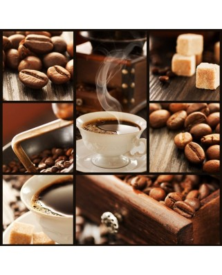 Puzzle Grafika - Coffee Collage, 1.500 piese (50284)