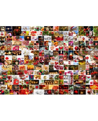 Puzzle Grafika - Collage - Christmas, 1.000 piese (64598)