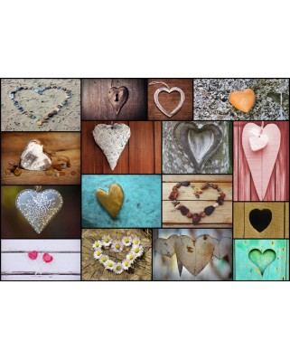 Puzzle Grafika - Collage - Love, 1.000 piese (52516)