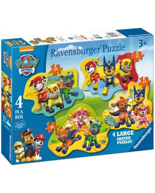 Puzzle Ravensburger - Paw, 10/12/14/16 piese (06911)