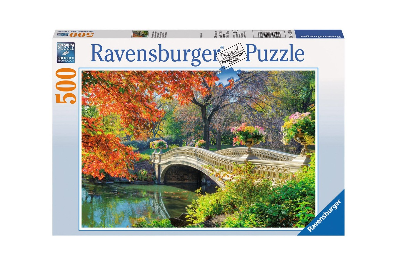 Puzzle Ravensburger - Podul Romanticilor, 500 piese (14231)