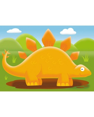 Puzzle Ravensburger - Dinozauri, 2/3/4/5 piese (07289)