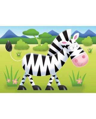 Puzzle Ravensburger - Safari, 2/3/4/5 piese (07301)