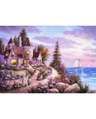 Puzzle Grafika - Dennis Lewan: Belle d'Amour, 1.500 piese (60451)