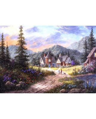 Puzzle Grafika - Dennis Lewan: Hills Of Bavaria, 1.500 piese (60435)