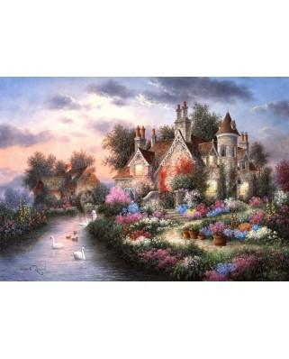 Puzzle Grafika - Dennis Lewan: Mill Creek Manor, 2.000 piese (60442)