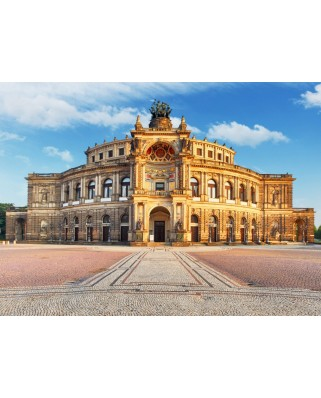 Puzzle Grafika - Deutschland Edition - Dresden, Opera House Semperoper, 300 piese (60929)