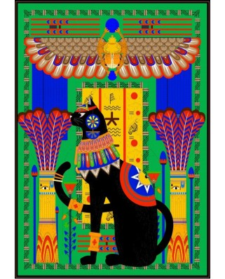 Puzzle Grafika - Egyptian Cat, 1.000 piese (54849)