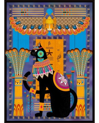 Puzzle Grafika - Egyptian Cat, 2.000 piese (54851)