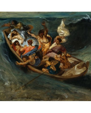Puzzle Grafika - Eugene Delacroix: Christ on the Sea of Galilee, 1841, 1500 piese (49766)