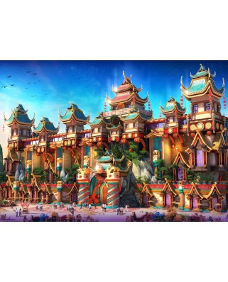 Puzzle Grafika - Fairyland China, 1.000 piese (61977)