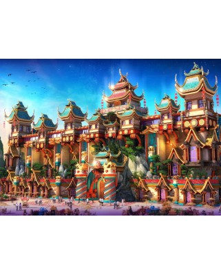 Puzzle Grafika - Fairyland China, 1.500 piese (61976)