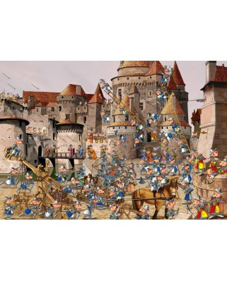 Puzzle Grafika - Francois Ruyer: Attack of the Castle, 1.000 piese (58476)