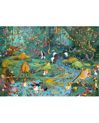 Puzzle Grafika - Francois Ruyer: Jungle, 2.000 piese (60219)