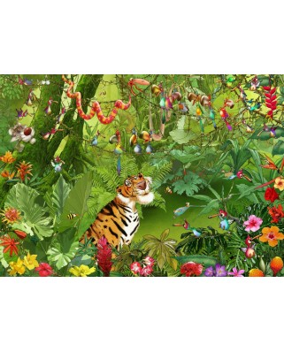 Puzzle Grafika - Francois Ruyer: Jungle, 500 piese (61781)