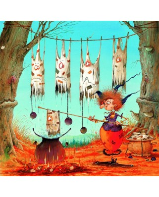 Puzzle Grafika - Francois Ruyer: The Witch, 1.500 piese (58484)